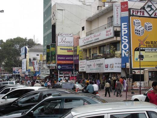 Bangalore Shopping Street