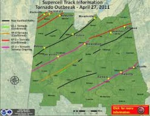 Tornado outbreak from April 27, 2011