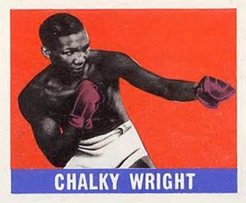 Chalky Wright is the former featherweight champion of the world. He took on all comers including Henry Armstrong and Willie Pep.