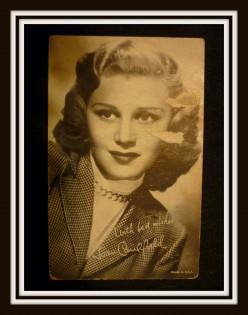 Vintage Movie Cards