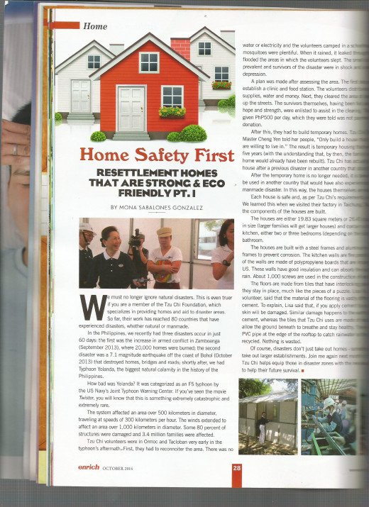 My column, Home Safety First