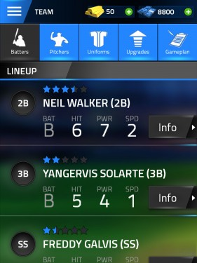 Tap Sports Baseball 2015 Gamezebo