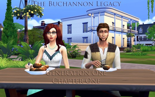 The Buchannon Sims 4 Legacy Challenge, Generation One, Chapter One.