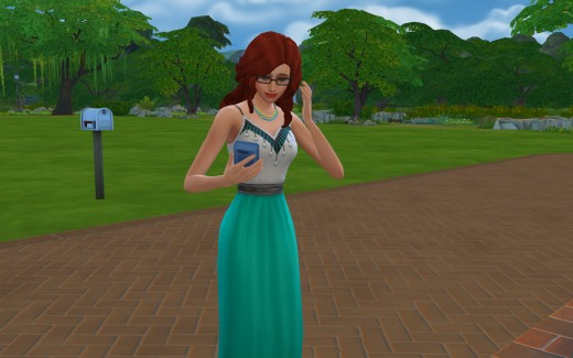 Cordelia will be working in order to add to the household net worth as well as to gain some experience.