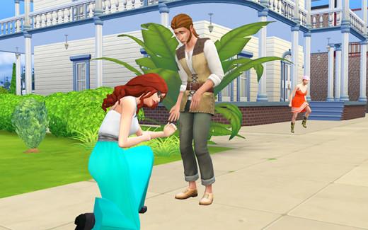 Cordelia proposes to Ishmael.