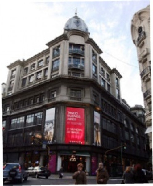 The forner Harrods department store, Buenos Aires, Argentina (877 Florida Street)
