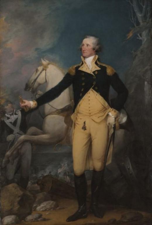 General George Washington at Trenton, by John Trumbull, 1792