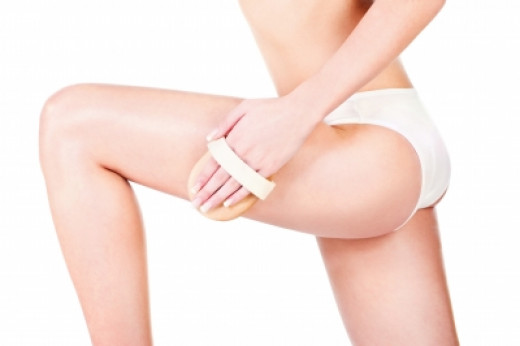 Dry body brushing does not get rid of cellulite.