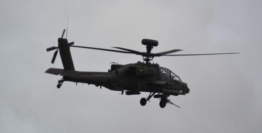 A British Army Air Corps Apache at RIAT 2014, RAF Fairford