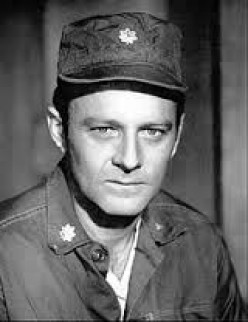 "The late Larry Linville, ""Frank Burns."""