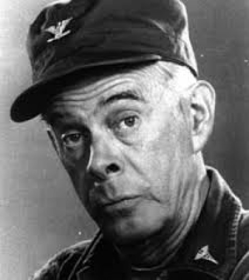 "The late Harry Morgan, ""Col. Potter."""