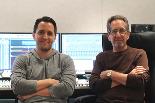 Profile Of Composers Paul Miller (left) and Bruce Miller (right) Composers of CBS' The Odd Couple