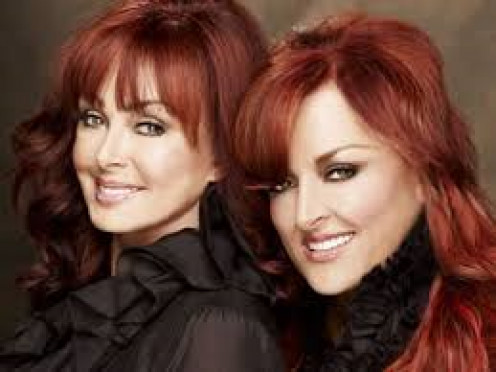 The Judds: Left, Naomi, Ashley's mom and Wynonna, her sister.
