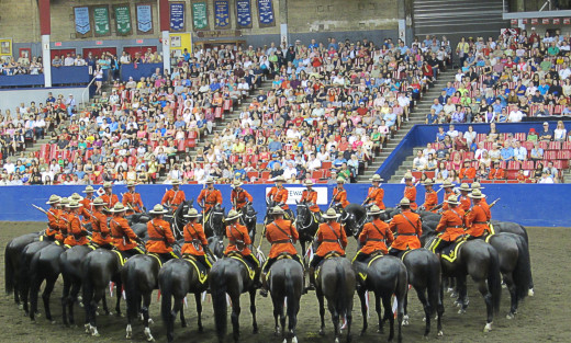 Introducing a large cast of characters, such as the riders, horses or spectators at the RCMP Musical Ride, is not a good idea in flash fiction.