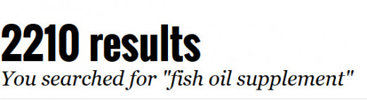 "2210 Results for ""Fish Oil Supplements"""