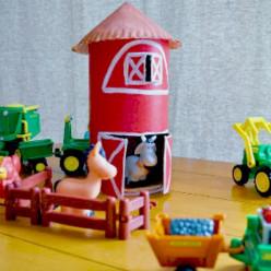 Oatmeal Box Crafts Ideas
