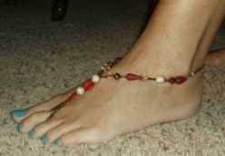 How to Make Beautiful Foot Jewelry