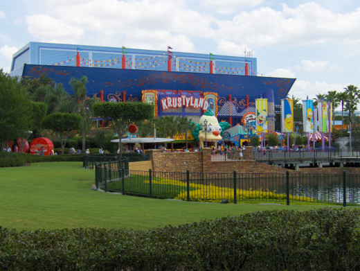 The Simpsons Ride at Universal Studios, Florida.