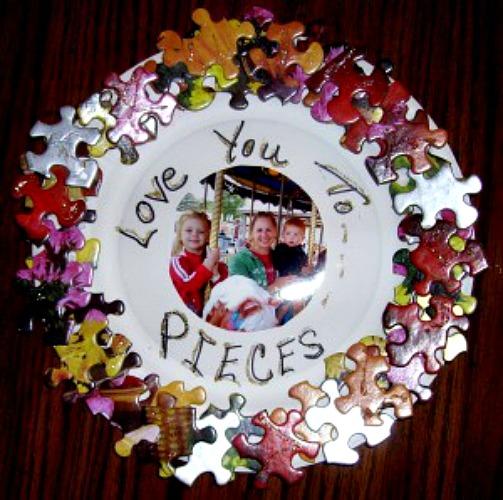 puzzle pieces crafts ideas