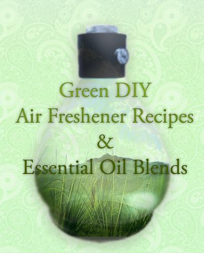 DIY Air Freshner Recipes with Essential Oils