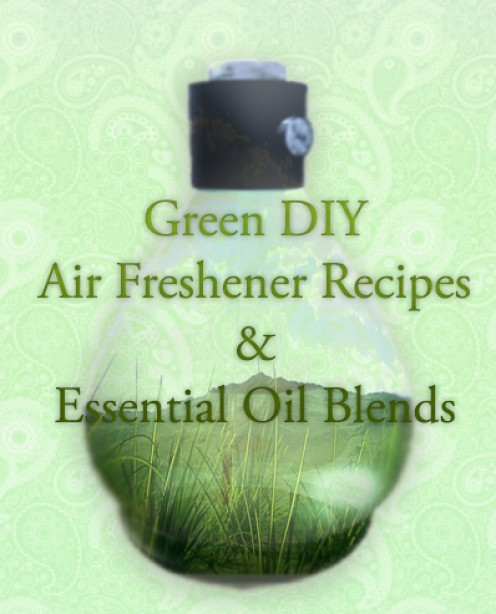 Green DIY Air Freshener Recipes and Essential Oil Blends