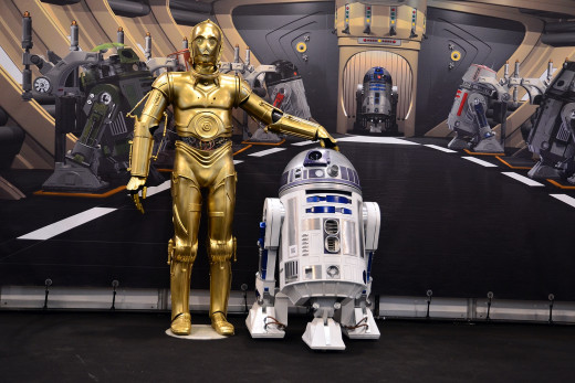 "Although R2-D2 and C-3PO are nearly inseparable in the ""Star Wars"" movies, the actors who play the two characters cannot stand each other."