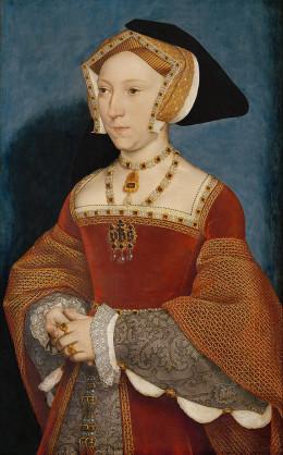 Portrait of Jane Seymour by Hans Holbein.