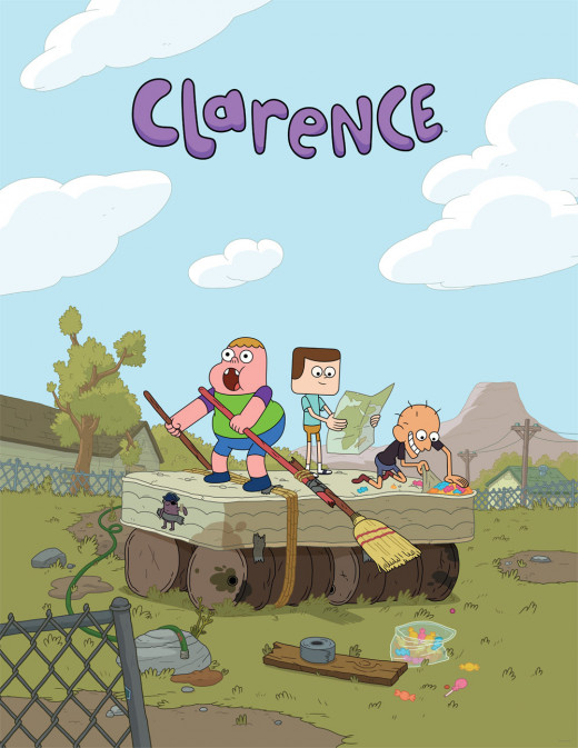 Have fun with Clarence on Cartoon Network