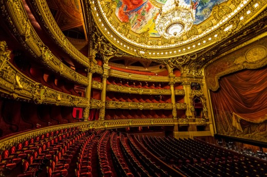 Can you imagine the sound of the room reverb in the Paris Opera Hall?