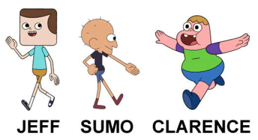 Jeff, Sumo and Clarence