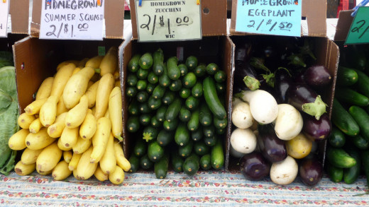 Organic and clean, farmer's markets are usually pesticide free and less expensive then the grocery store.