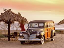 The Woody: a beach classic.