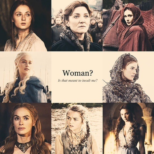 It's not only the male specie that reigned superior in the show, but as well as dominant female characters who in many ways overruled.