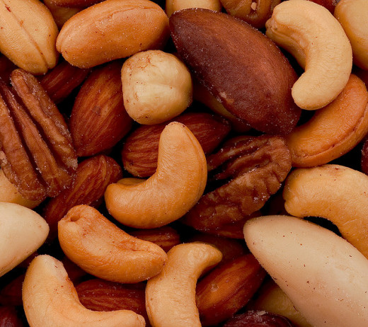 Nuts are rich in magnesium, which activates vitamin D and in turn relieves back pain