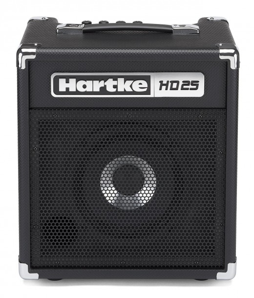 The Hartke HD25 is one of the best bass amps for beginners.