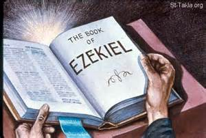 """In the [my] thirtieth year, in the fourth month of the fifth day, while I was among the exiles by the Kebar River, the heavens were opened and I saw visions of God."" -Ezekiel"