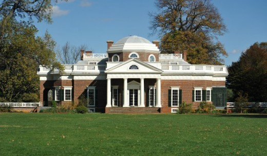 Monticello provides a fascinating and educational tour of the home of Thomas Jefferson.