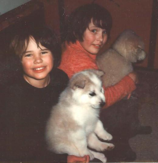 Kelli, Kip and Bear