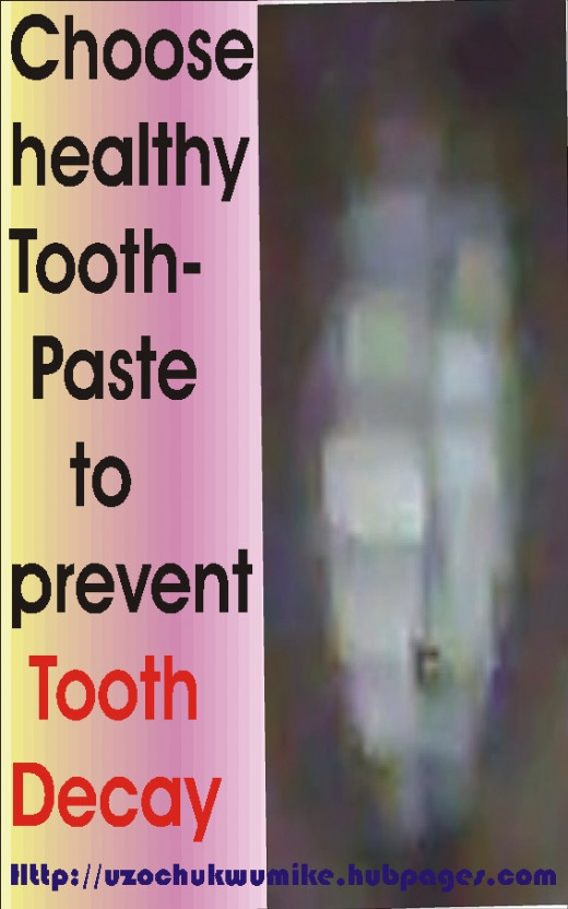 Good toothpaste can help in the fight against teeth decay. It prevents tooth decay.