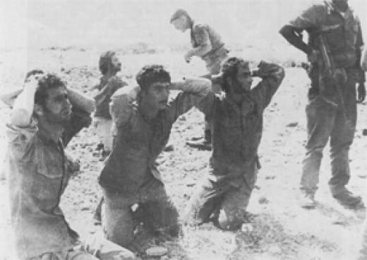 Greek Cypriot Soldiers Captured by Turkish Soldiers