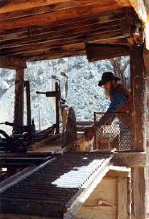 Sawmills turned-out some of America's toughest men.
