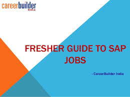CareerBuilder India SAP Fresher Jobs