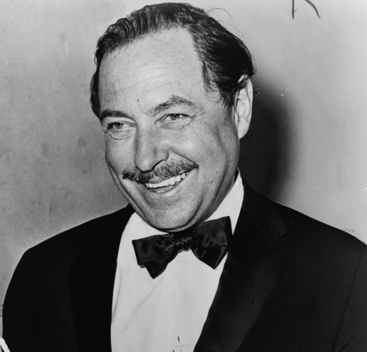 "Tennessee Williams born March 1911 and died February 1983 was a famous American playwright and author of the classic ""A Streetcar Named Desire"" and ""Cat on a Hot Tin Roof"""