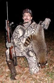 A pro raccoon hunter.