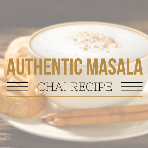 Authentic Masala CHAI Tea Recipe! Includes all of the amazing health benefits of each of the ingredients!