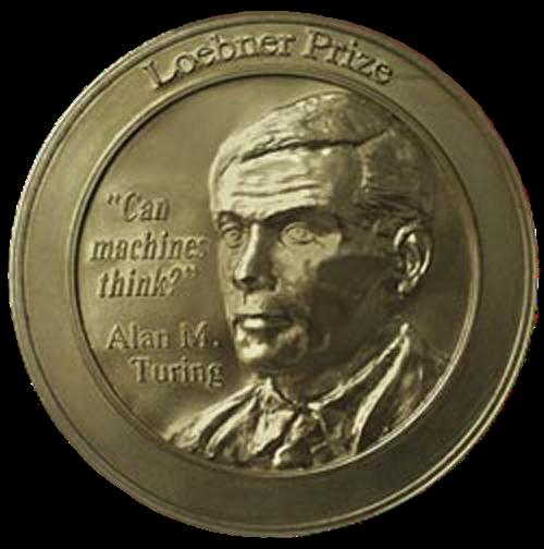 Loebner Prize gold medal
