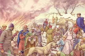 The Harrying of the North - after William failed to stop the aetheling Eadgar from leaving for Scotland across the Tees, he took to destroying homes, crops and livestock over much of Yorkshire, Lincolnshire, Cheshire and Shropshire out of spite