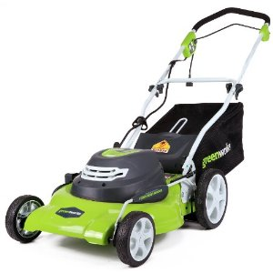 The greenworks 25022 lawn mower