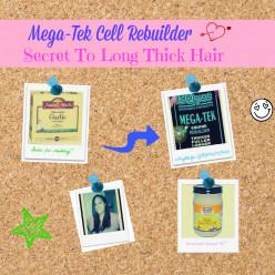 Megatek Cell Rebuilder- Secret to Long Thick Hair