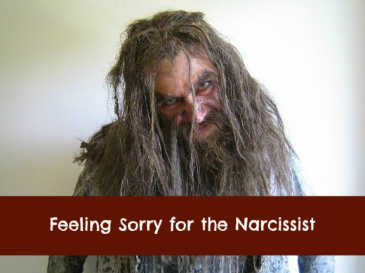 Narcissists are pathetic.